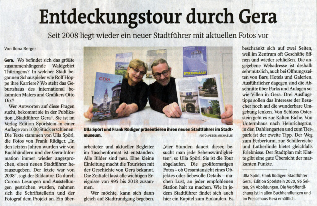 OTZ 2020 Stadtführer Gera
